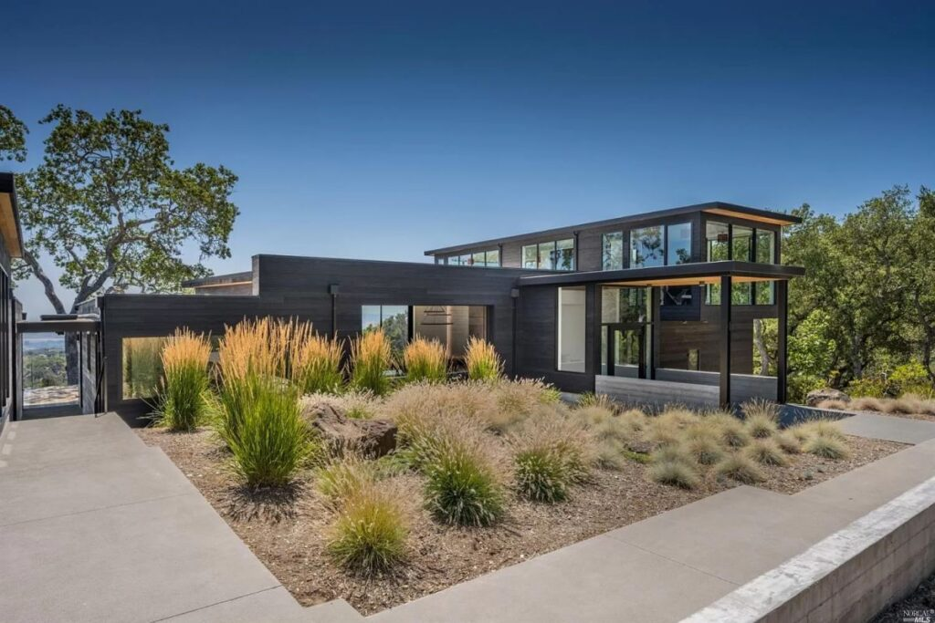Striking Contemporary House in Sonoma