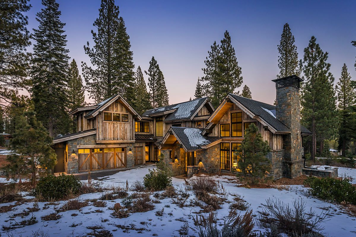 Stunning Martis Camp Home Lot 308 by Kelly and Stone Architects