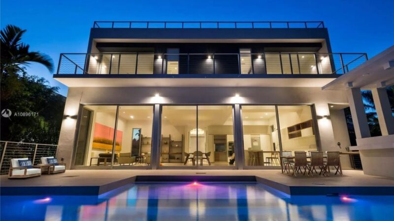 Stunning Venetian Islands Modern Home on Market for $4.75 Million