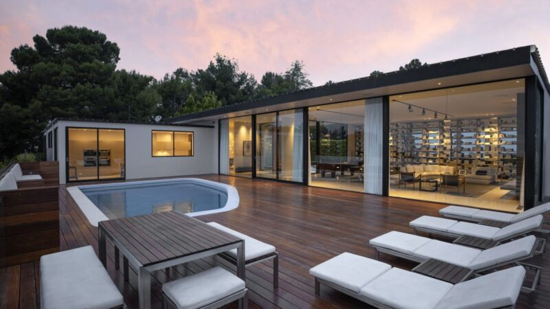 $11 Million Trousdale Estates Contemporary Home in Beverly Hills for Sale