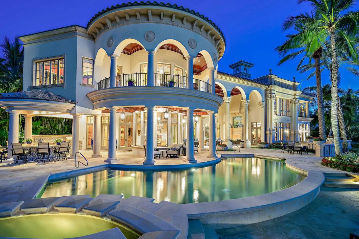 Ultra-Desirable Intracoastal Point Jupiter Home for Sale at $11 Million