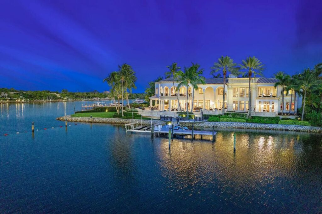Ultra-Desirable Intracoastal Point Jupiter Home for Sale