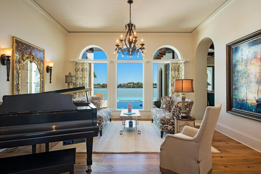 Vista Pointe Waterfront Residence in Naples by Stofft Cooney Architects