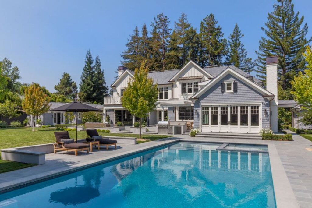 A Timeless Traditional Atherton Home for Sale