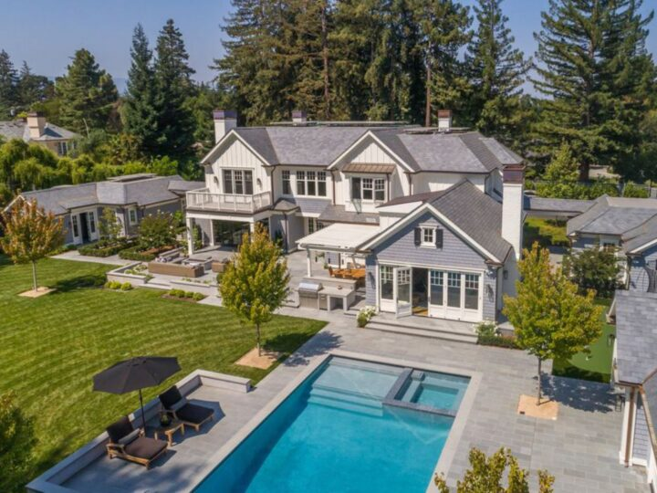 A Timeless Traditional Atherton Home for Sale at $14.8 Million