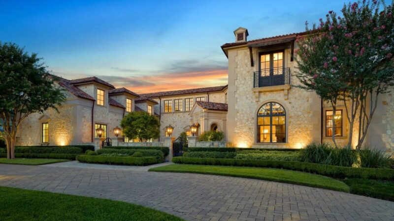 An Exquisite Mediterranean-style Dallas Home for Sale at $6.3 Million