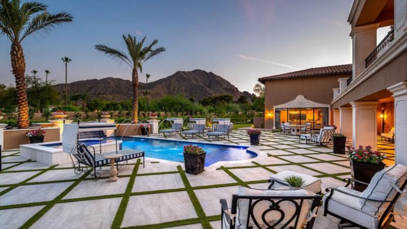 $7.995 Million Arizona House for Sale in the heart of Paradise Valley