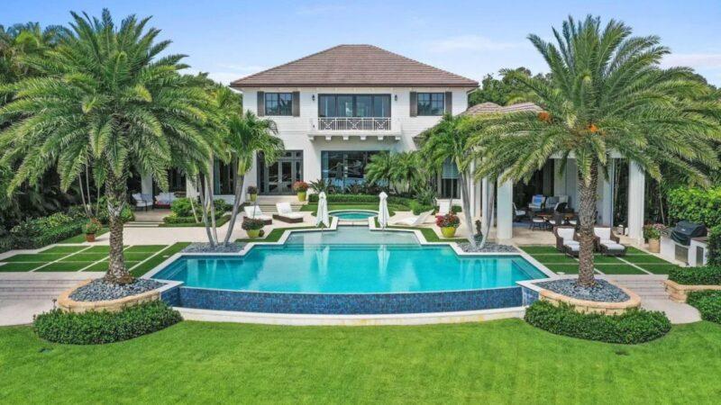 $10.9 Million Beautiful Jupiter House on prestigious Commodore Island