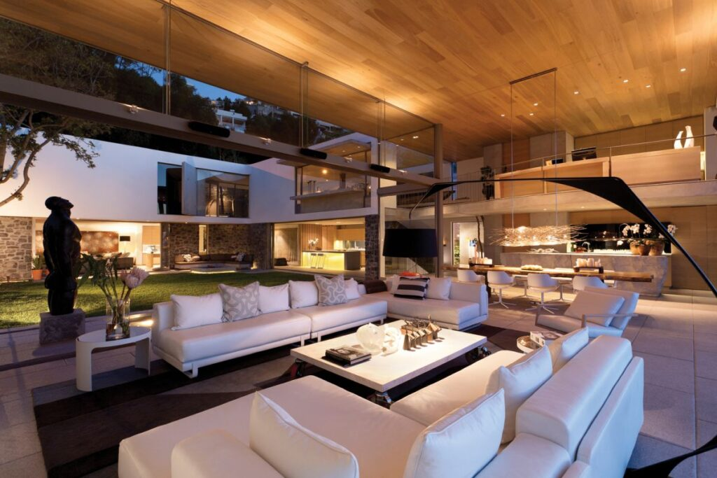 Boma Contemporary Home in Cape Town, South Africa by SAOTA