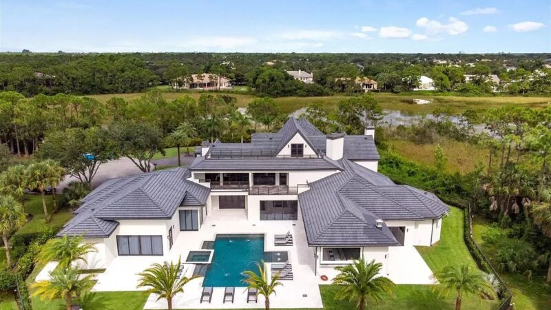Brand New Home in Palm Beach Gardens hits Market for $8.7 Million