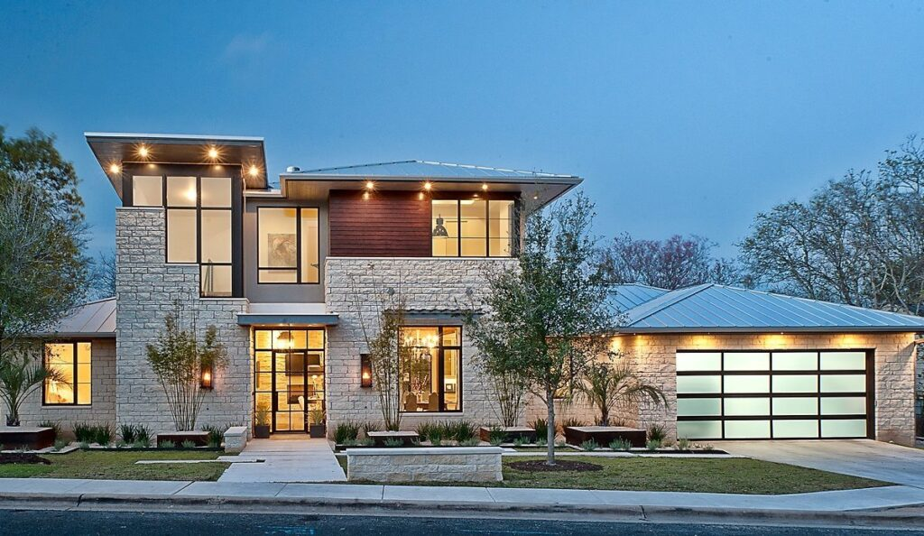 Cat Mountain Remodel Home in Austin by Cornerstone Architects