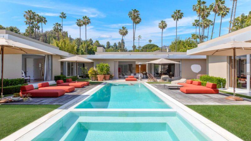 Completely Remodeled Modern Beverly Hills Home Asking $19.995 Million