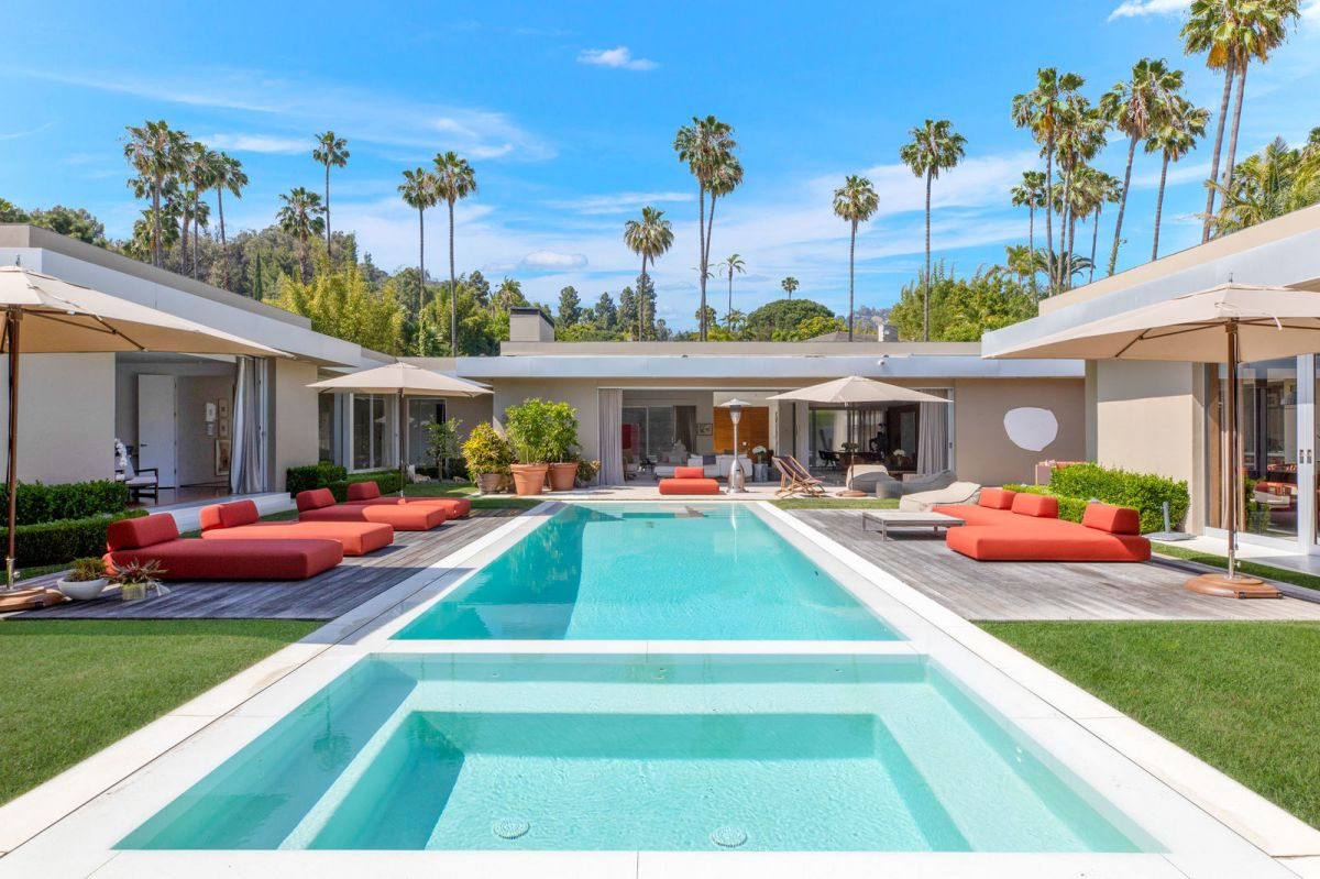 Completely Remodeled Modern Beverly Hills Home Asking $19.995 Million