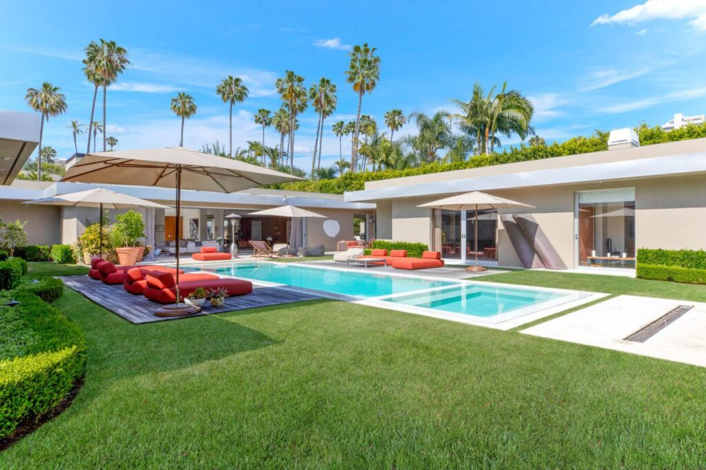 Completely Remodeled Modern Beverly Hills Home