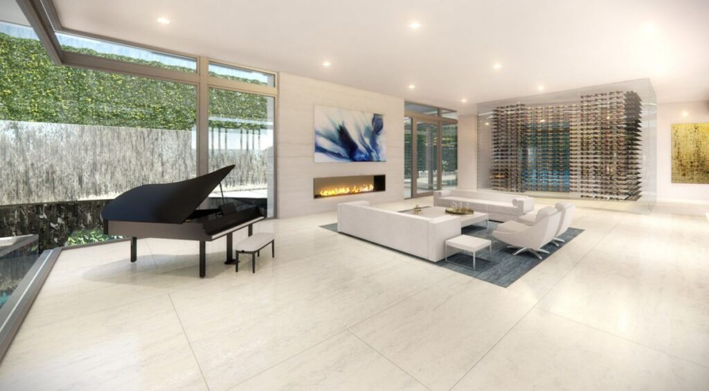 Conceptual Design of Beverly Hills Modern Home by McClean Design
