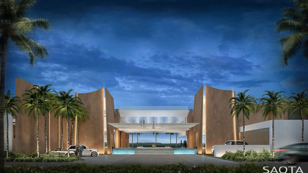Conceptual Design of Gorou Mansion in Niger by SAOTA