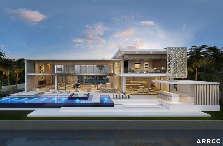 Conceptual Design of Miami Mansion by SAOTA and ARRCC