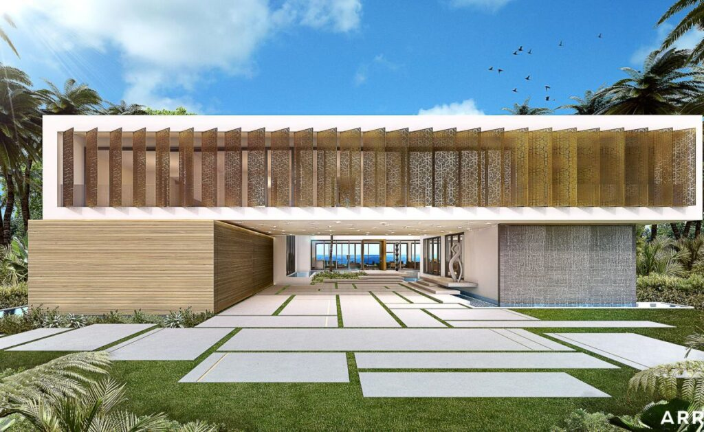 Conceptual Design of Miami Mansion by SAOTA and ARRCC