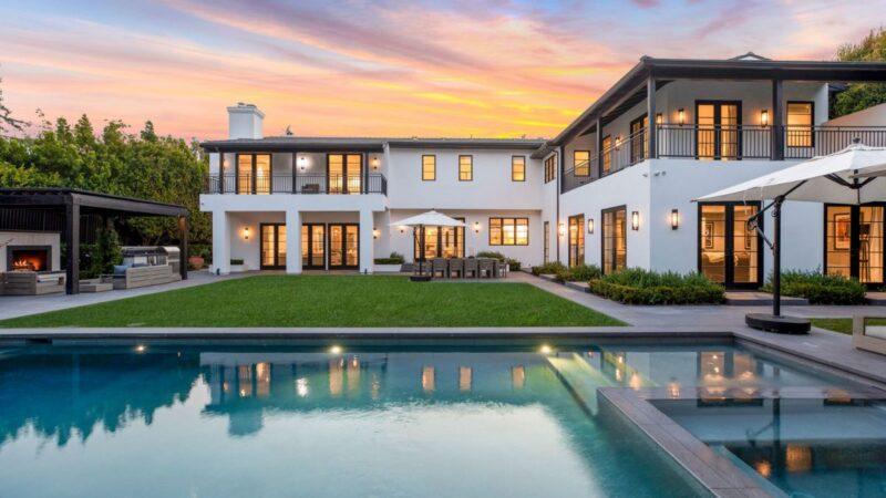 $15.75 Million Contemporary Mediterranean Home in Los Angeles