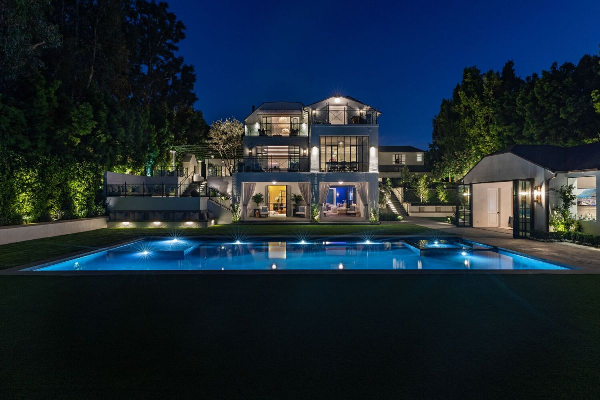 Elegant New Custom Built Beverly Hills Mansion for Sale