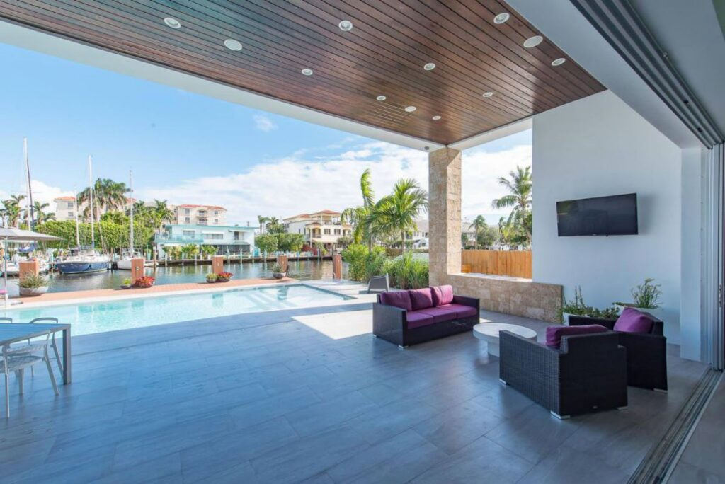 Fort Lauderdale Intercoastal Home Design by In-Site Design Group LLC