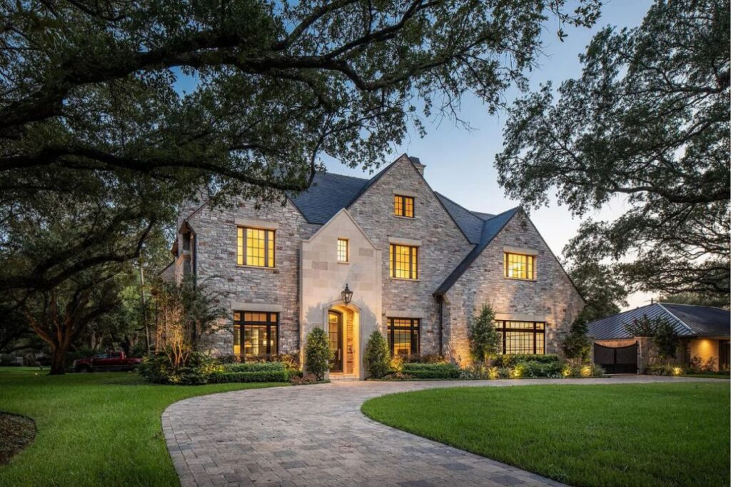 Houston Home for Sale at $4.875 Million offers Exquisite Custom Details