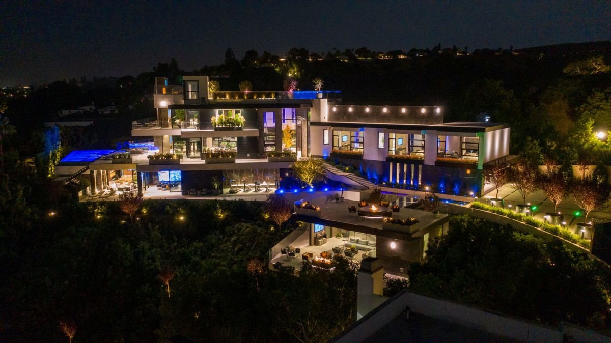 Iconic Brand New Beverly Hills Mansion hits Market for $46.5 Million