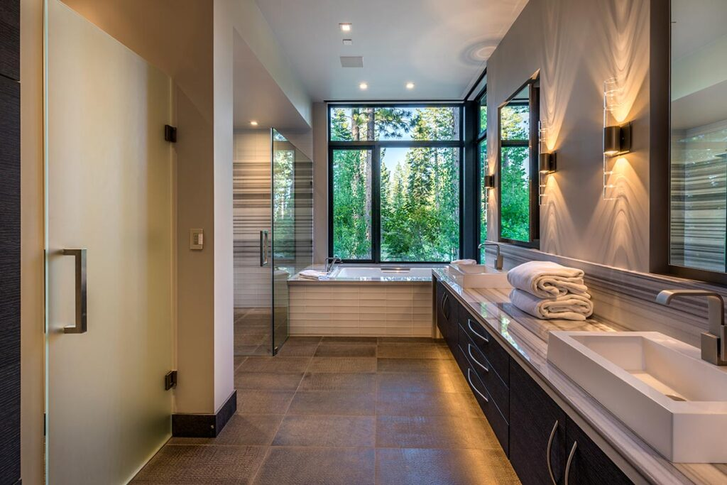 Jaw dropping Martis Camp Home on Lot 133 by Ryan Group Architects