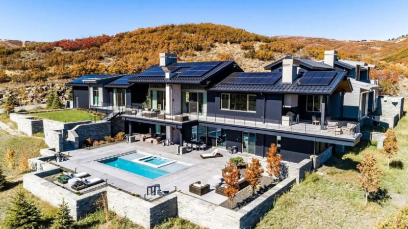 Magnificent Contemporary Park City Home for Sale at $10.5 Million
