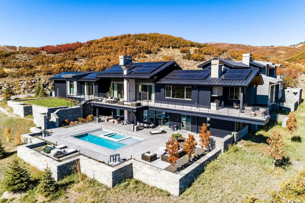 Magnificent Contemporary Park City Home for Sale