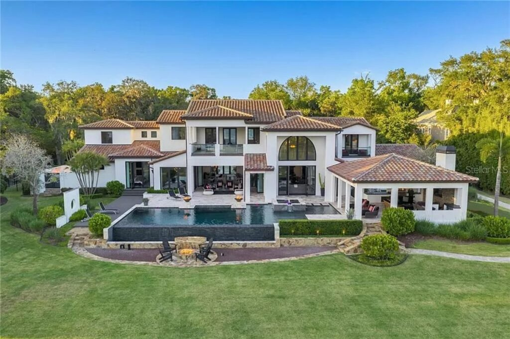 Maitland Florida Estate with 8,000 SF of Luxury Living Space