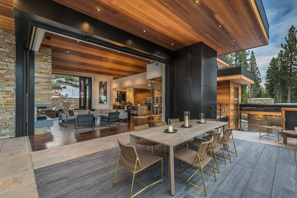 Mountain Home on Martis Camp Lot 581 by Kelly and Stone Architects