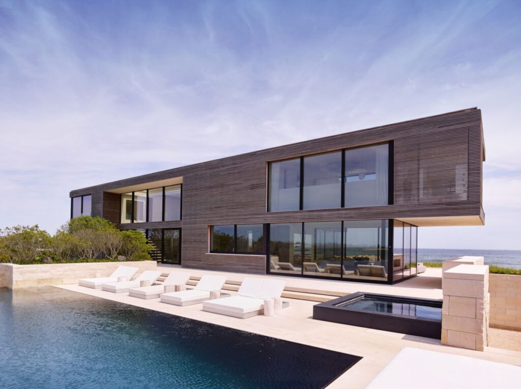 New York Field House in Long Island by Stelle Lomont Rouhani Architects