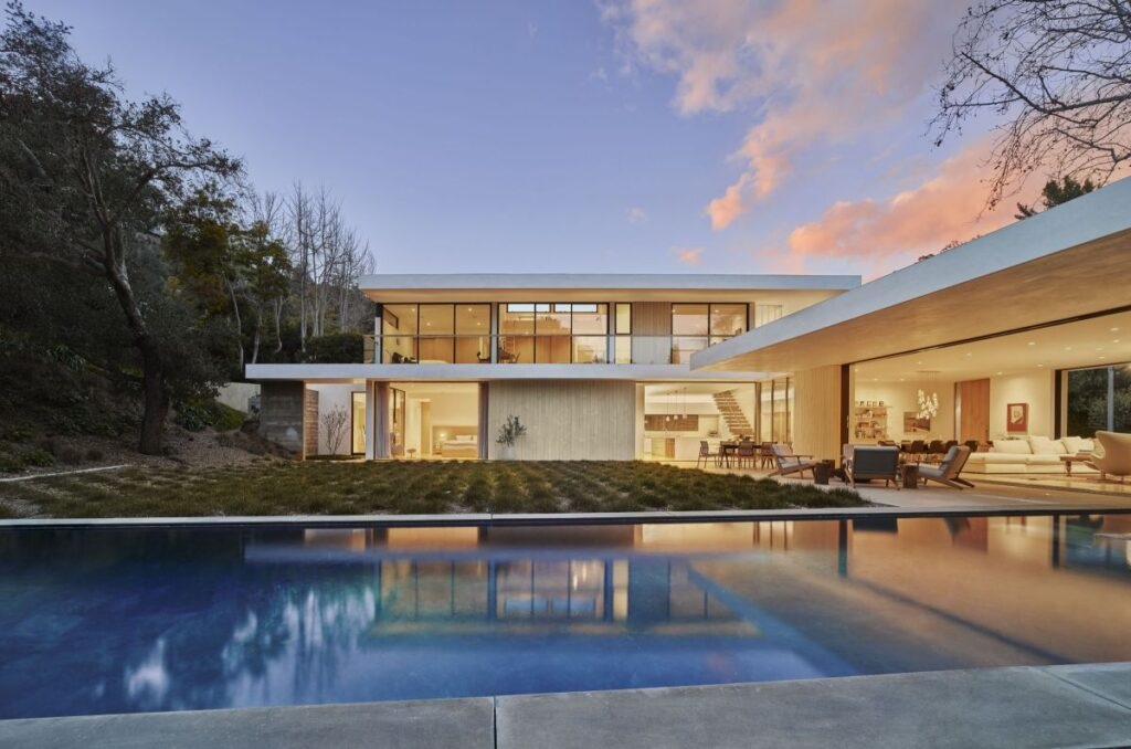 Open House in Bel Air, Los Angeles Designed by Standard Architecture
