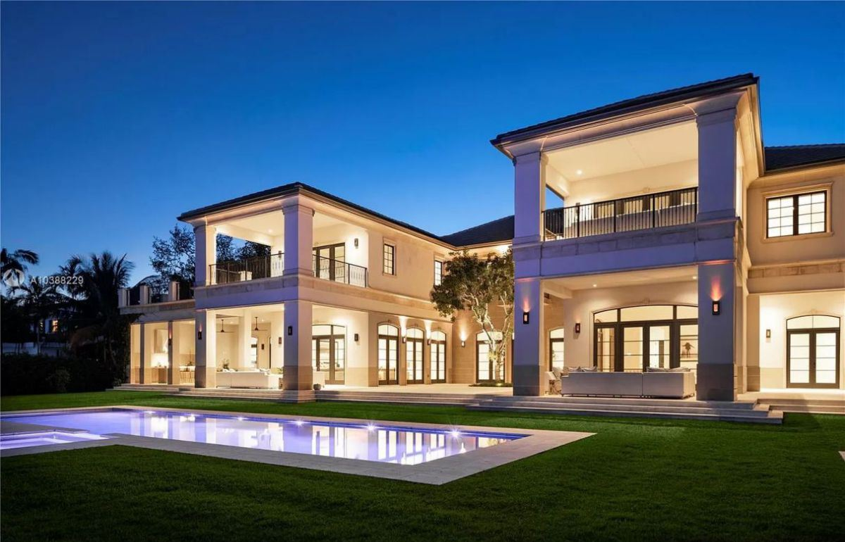 Perfectly Classic Palladian Coral Gables Home for Sale
