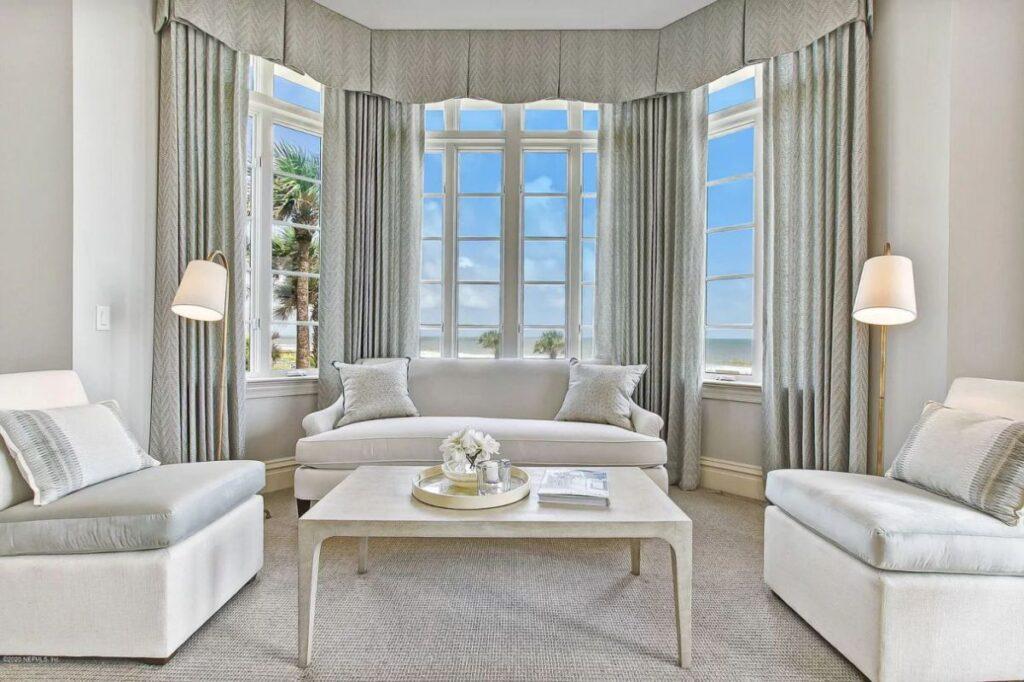 Ponte Vedra Beach Mediterranean Oceanfront Home