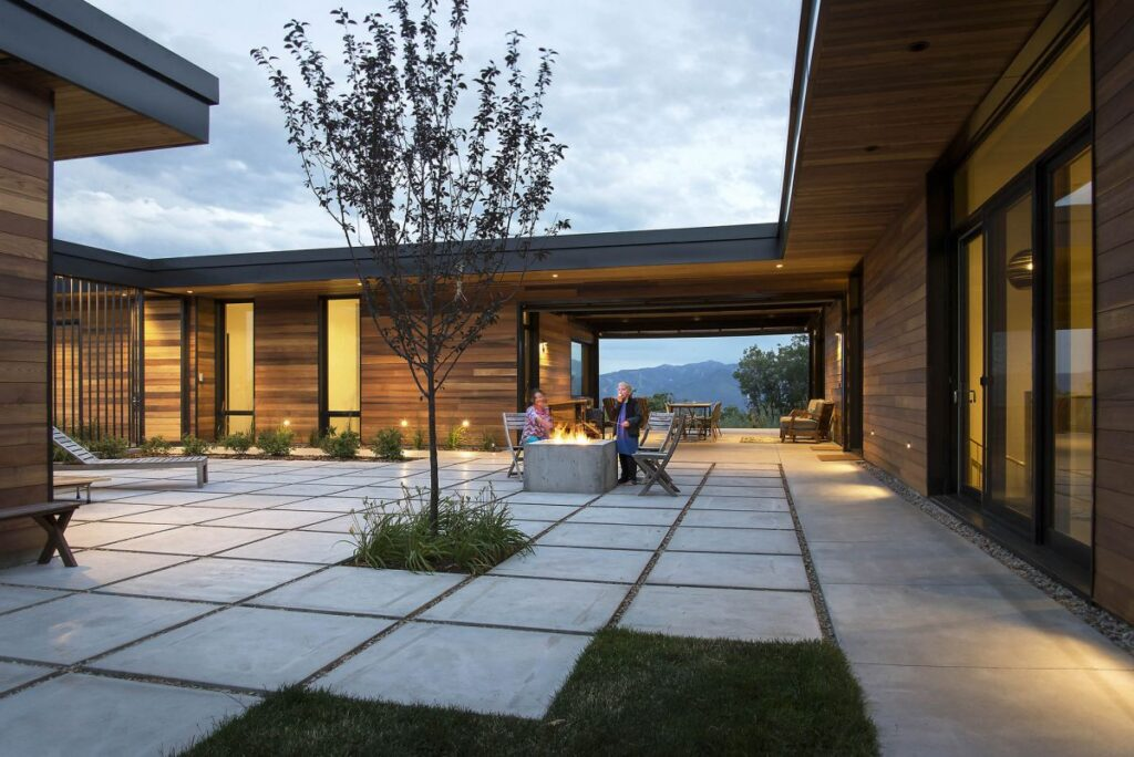 Red Hawk House in Park City, Utah by Imbue Design