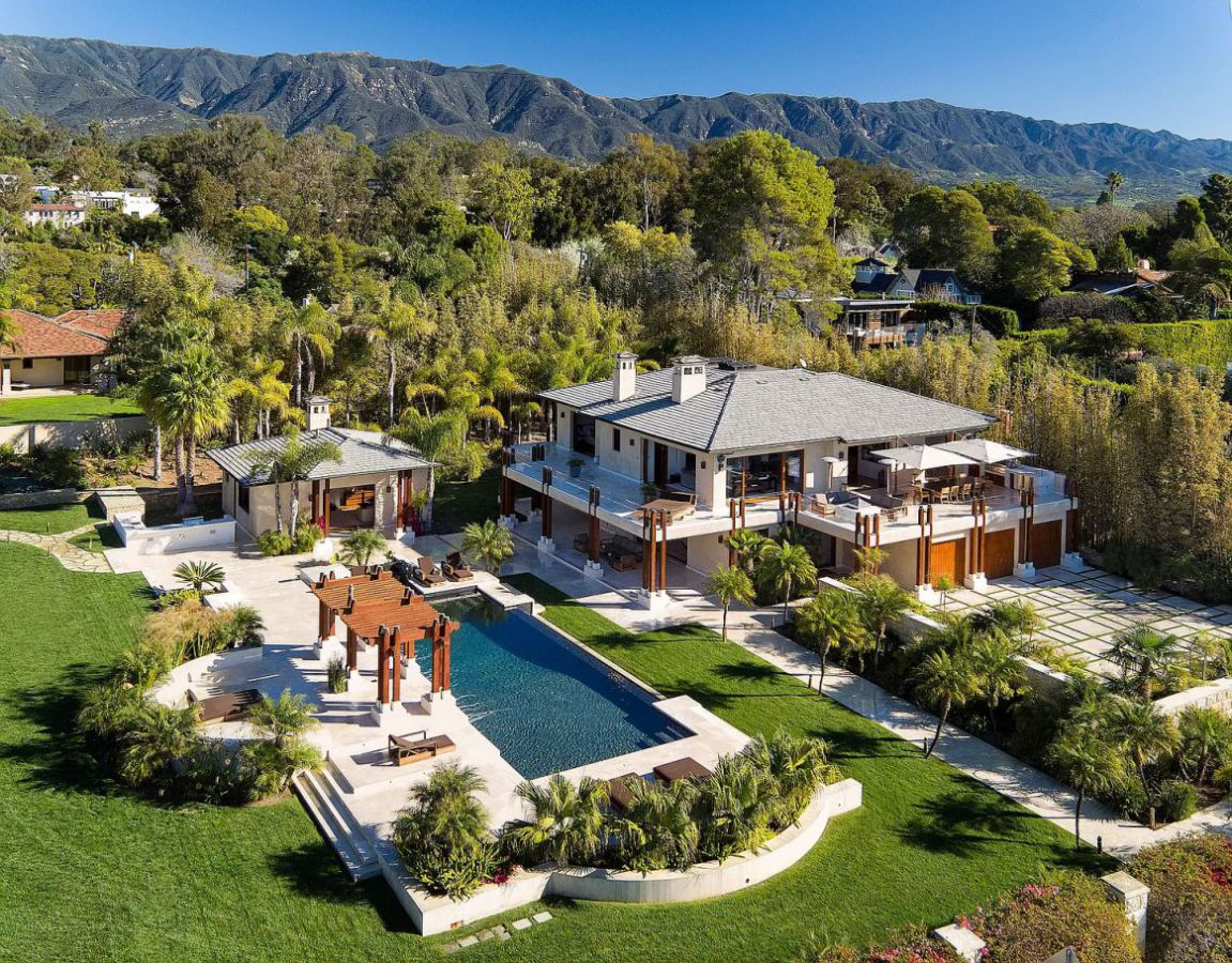 Santa Barbara Home for Sale set on A Magical 1.13 Acres