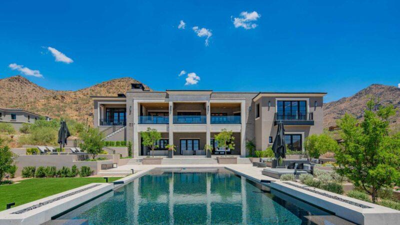 Sleek Arizona Home in the Upper Canyon of Silverleaf Asking $15.6 Million