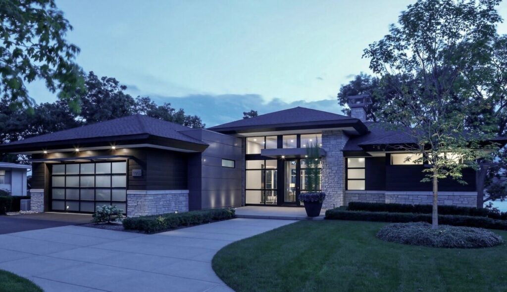 Spectacular Goldstein Home in Michigan by AZD Associates