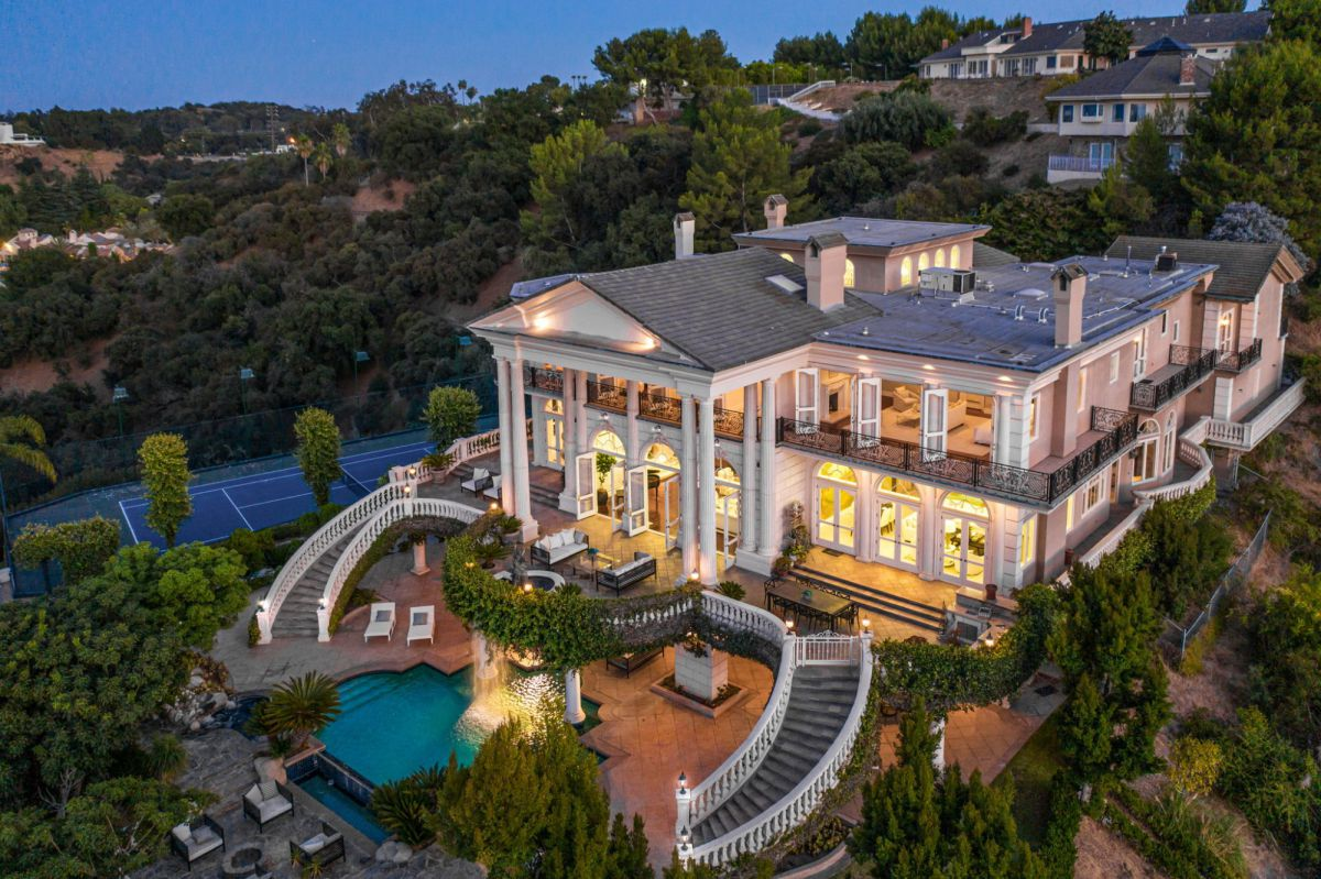 Stunning Italian inspired Encino Home for Sale at $17.49 Million