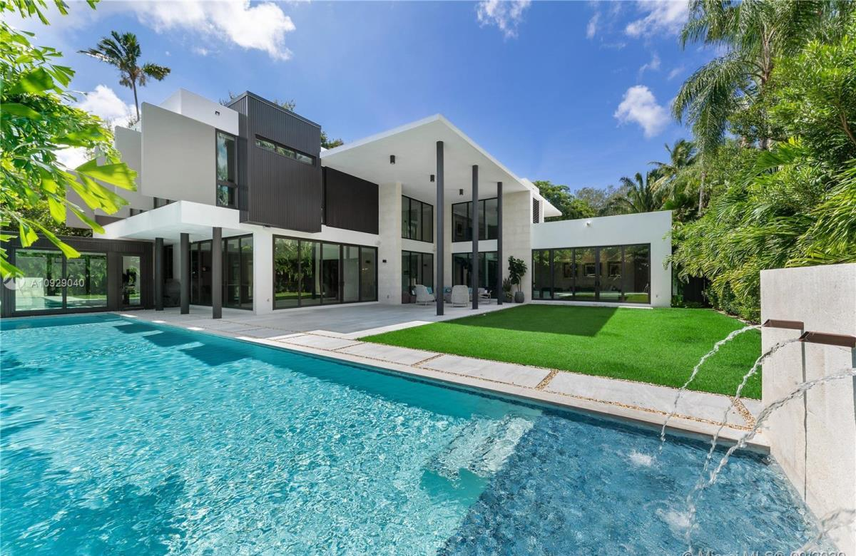 Thoughtfully Conceived Modern Miami Home for Sale