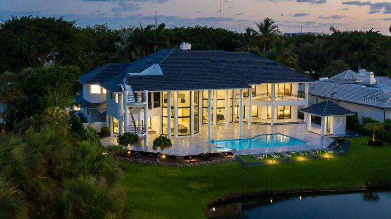 Totally Renovated Boca Raton Home on the Market for $4.2 Million