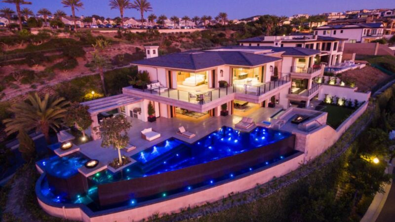 $21,900,000 Brand New Custom Ocean View Home for Sale in Dana Point