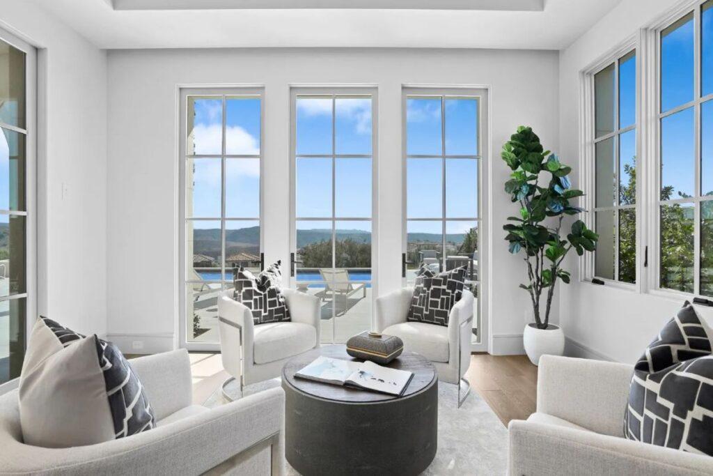 A Brand New Newport Coast Contemporary Home for Sale