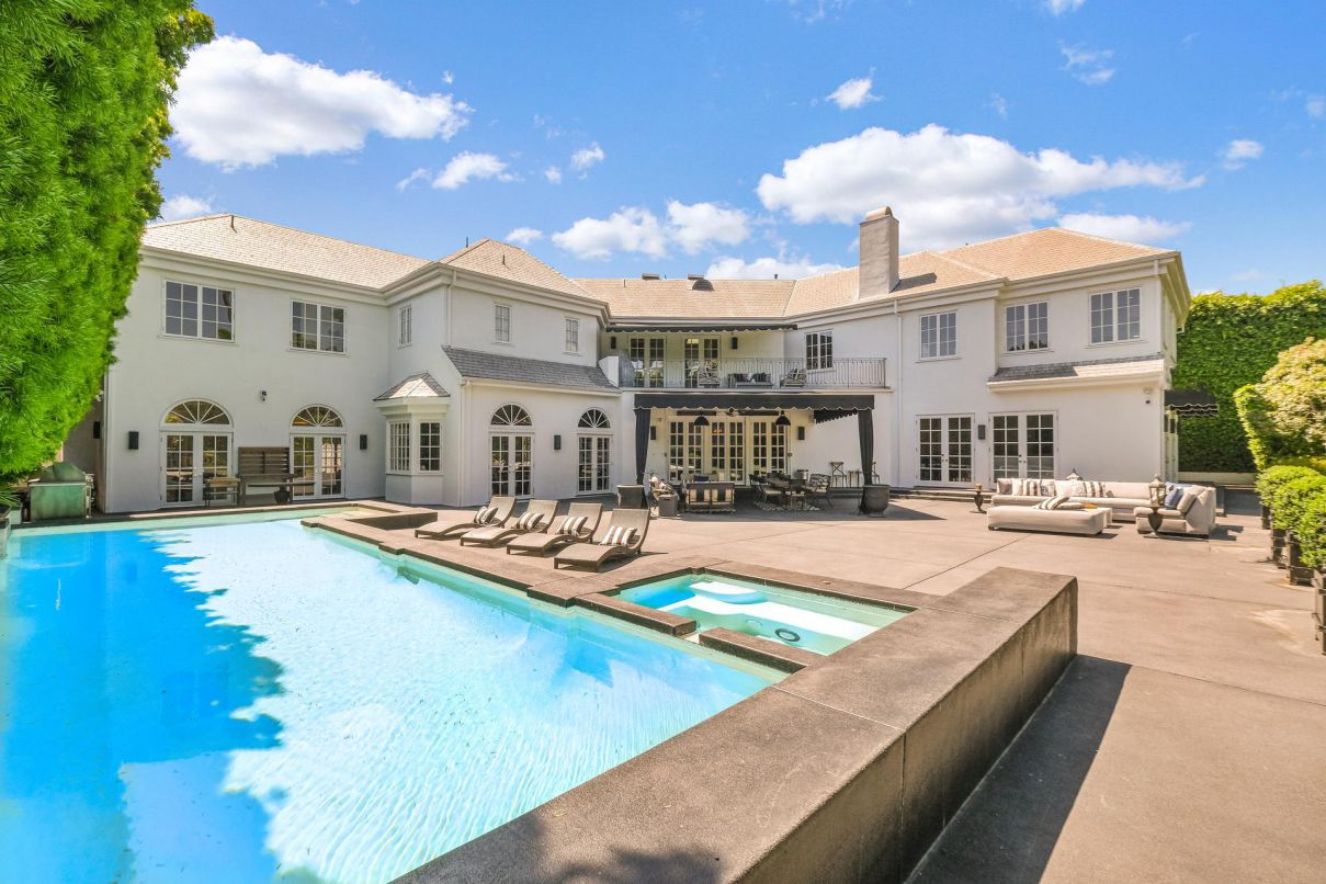 A Grand French Home in Beverly Hills for Sale