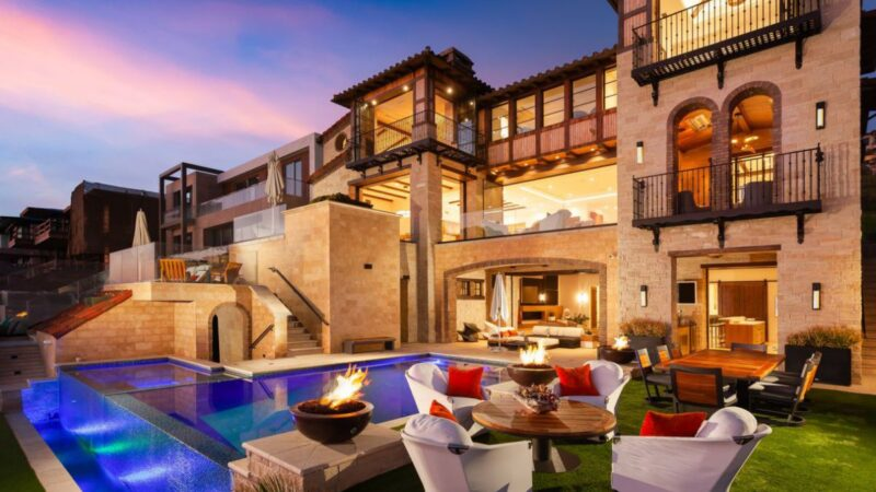 Iconic Modern Mediterranean Home in Dana Point for Sale at $23,995,000