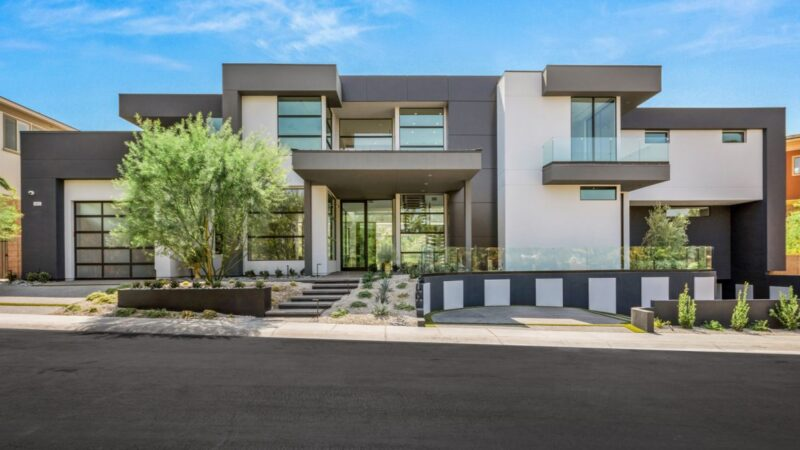 A New Contemporary Home in Henderson, Nevada for Sale at $5,990,000
