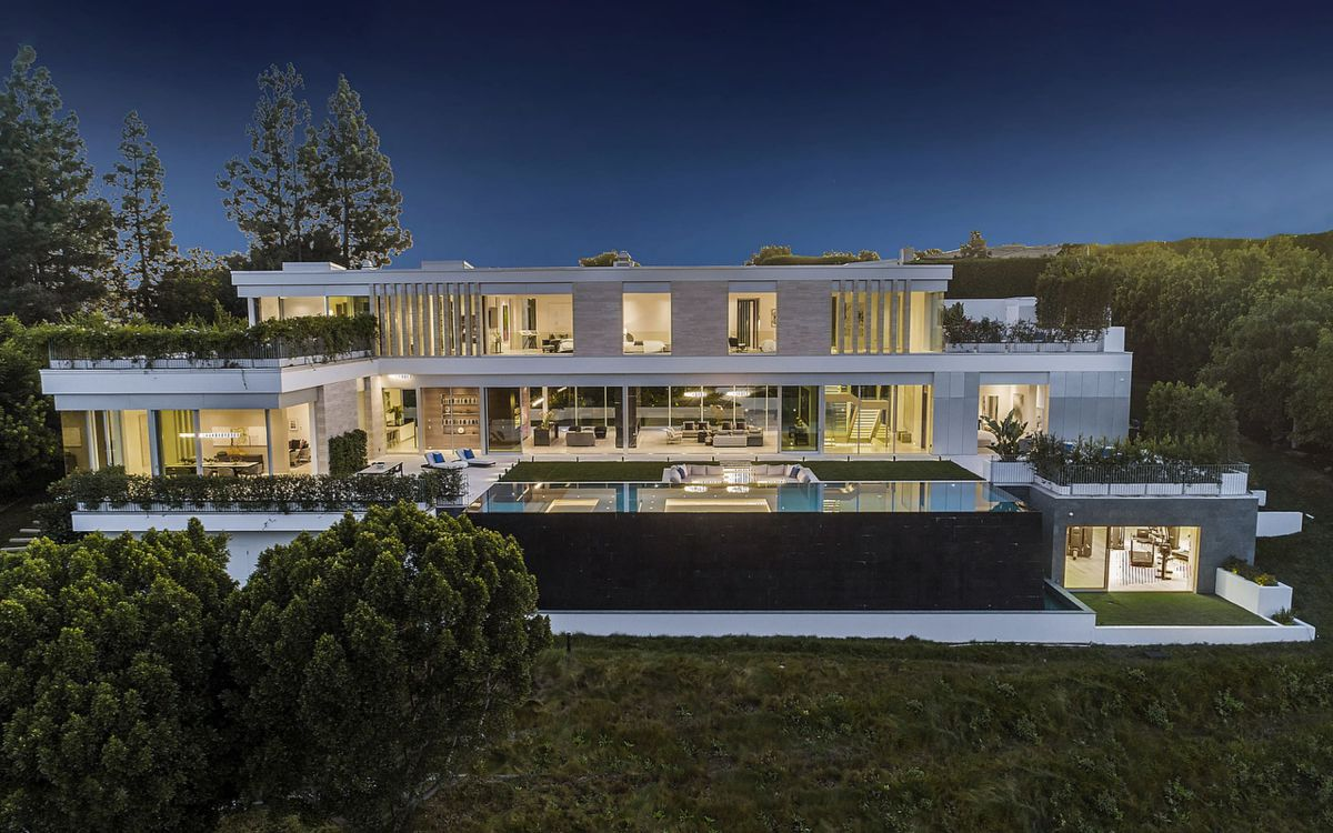 A Sensational Trophy House in Bel Air for Sale