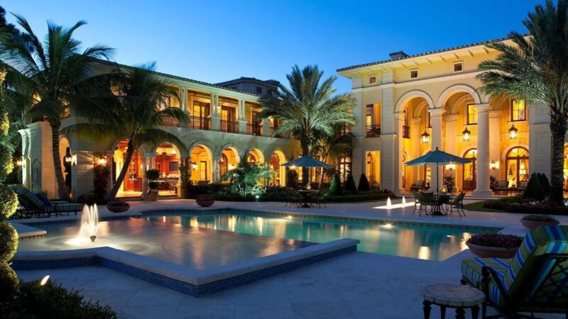 An Exceptional Mediterranean Jupiter Home for Sale at $18,995,000
